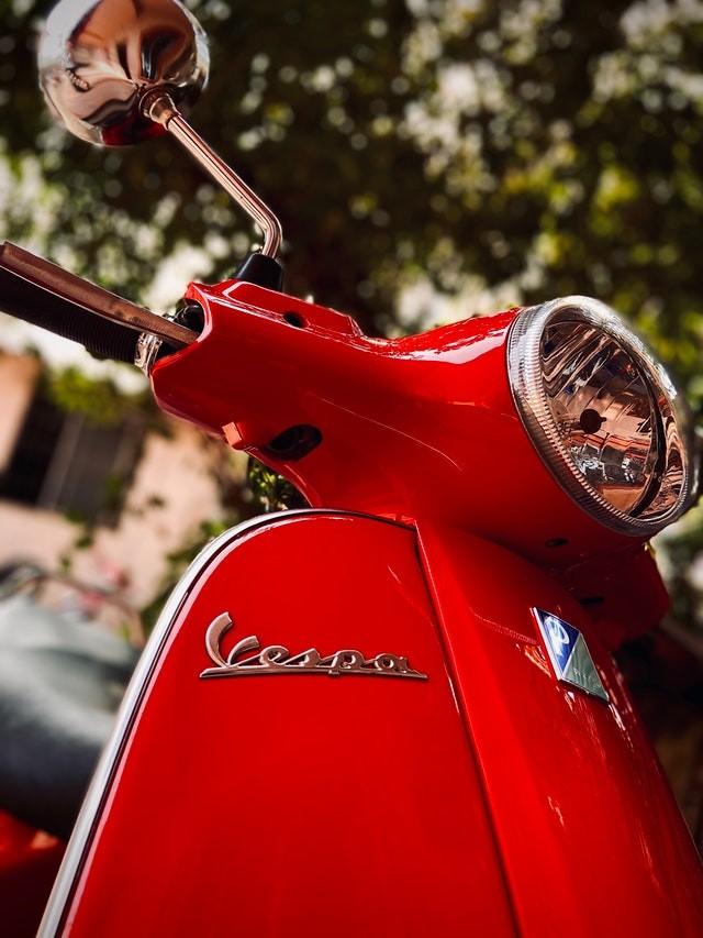 Piemonte met  Fiat 500 of vespa