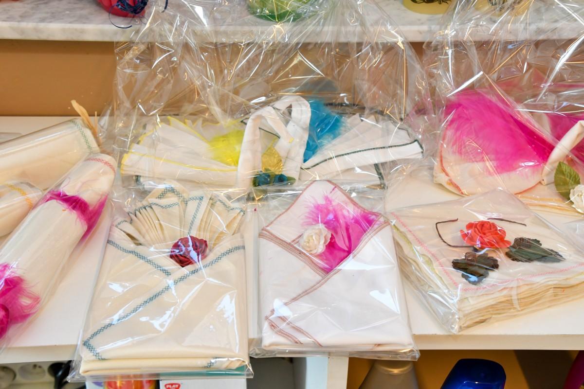 Zelfgemaakte zakdoeken