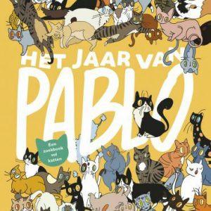 HET JAAR VAN PABLO zoekboek vol kat