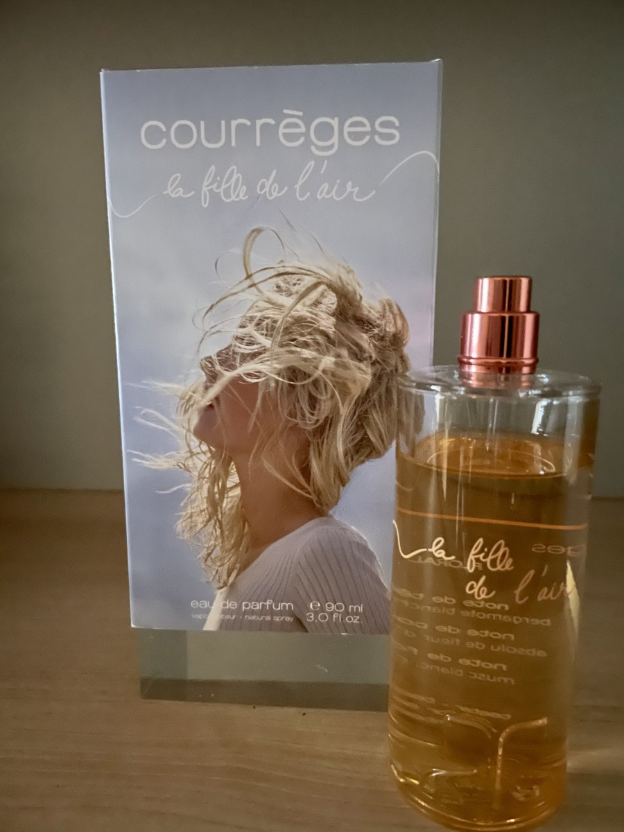 La fille de l'air Courrèges edp 90