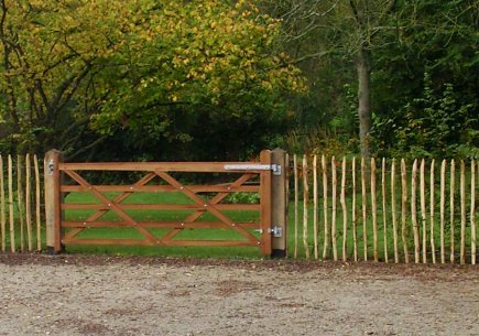 Engelse houten poort Universal