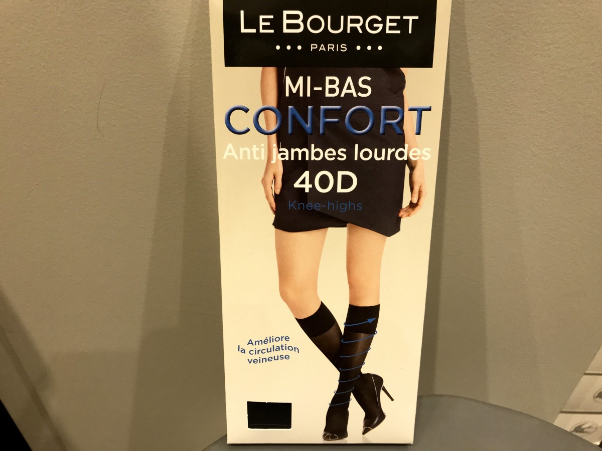 Steun-kniekousen van Le Bourget