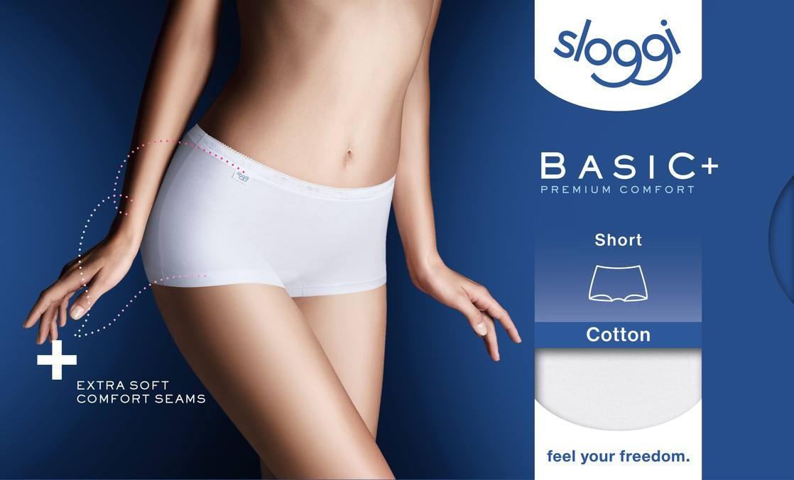 Shortjes voor dames van Sloggi