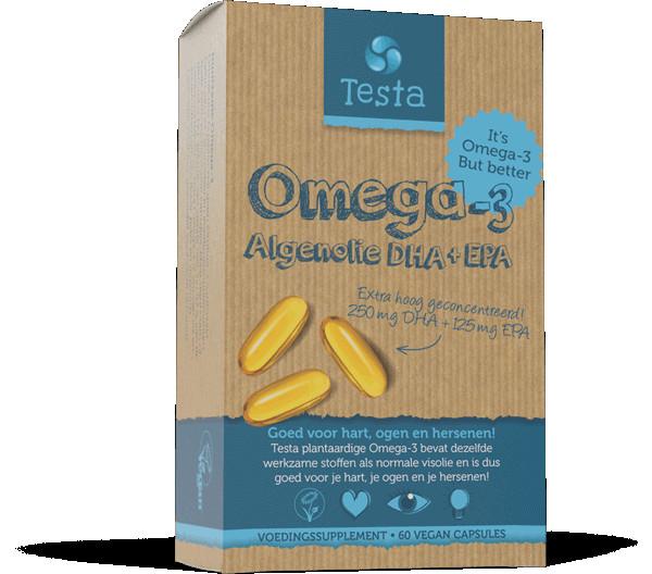 TESTA OMEGA 3 ALGENOLIE DHA & EPA