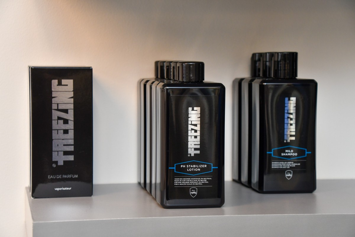 Parfum, lotion en shampoo