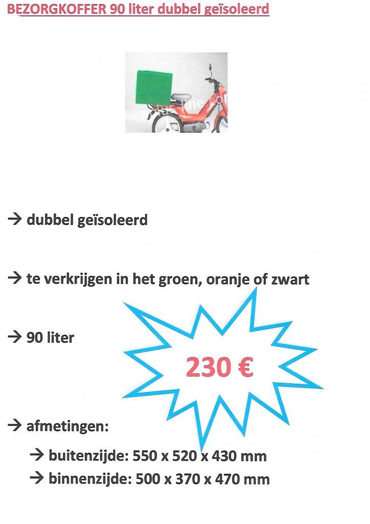 topkopffer 90L groen