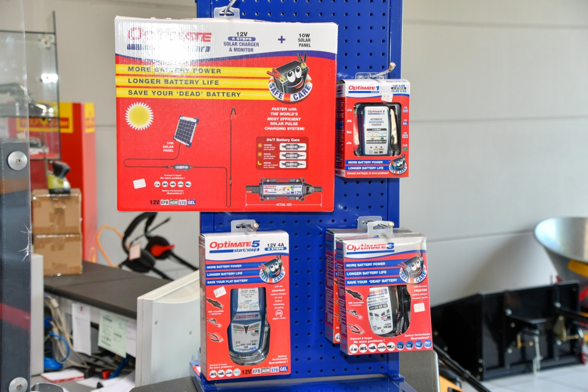 Batterijladers Optimate