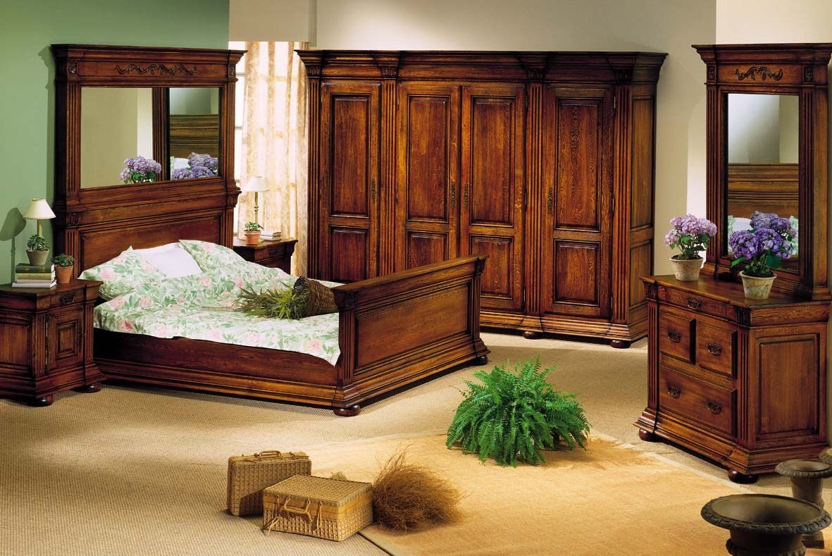 slaapkamer Meursault eik
