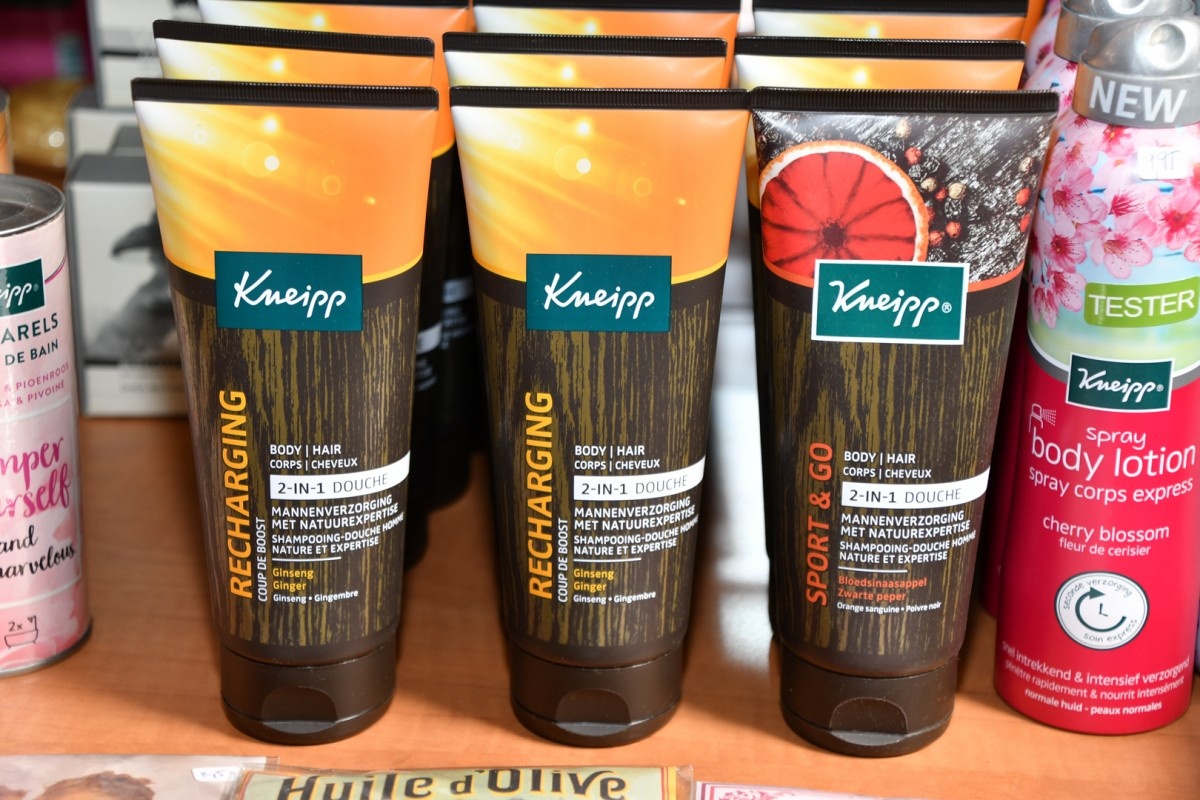 Harverzorgingsproducten Kneipp