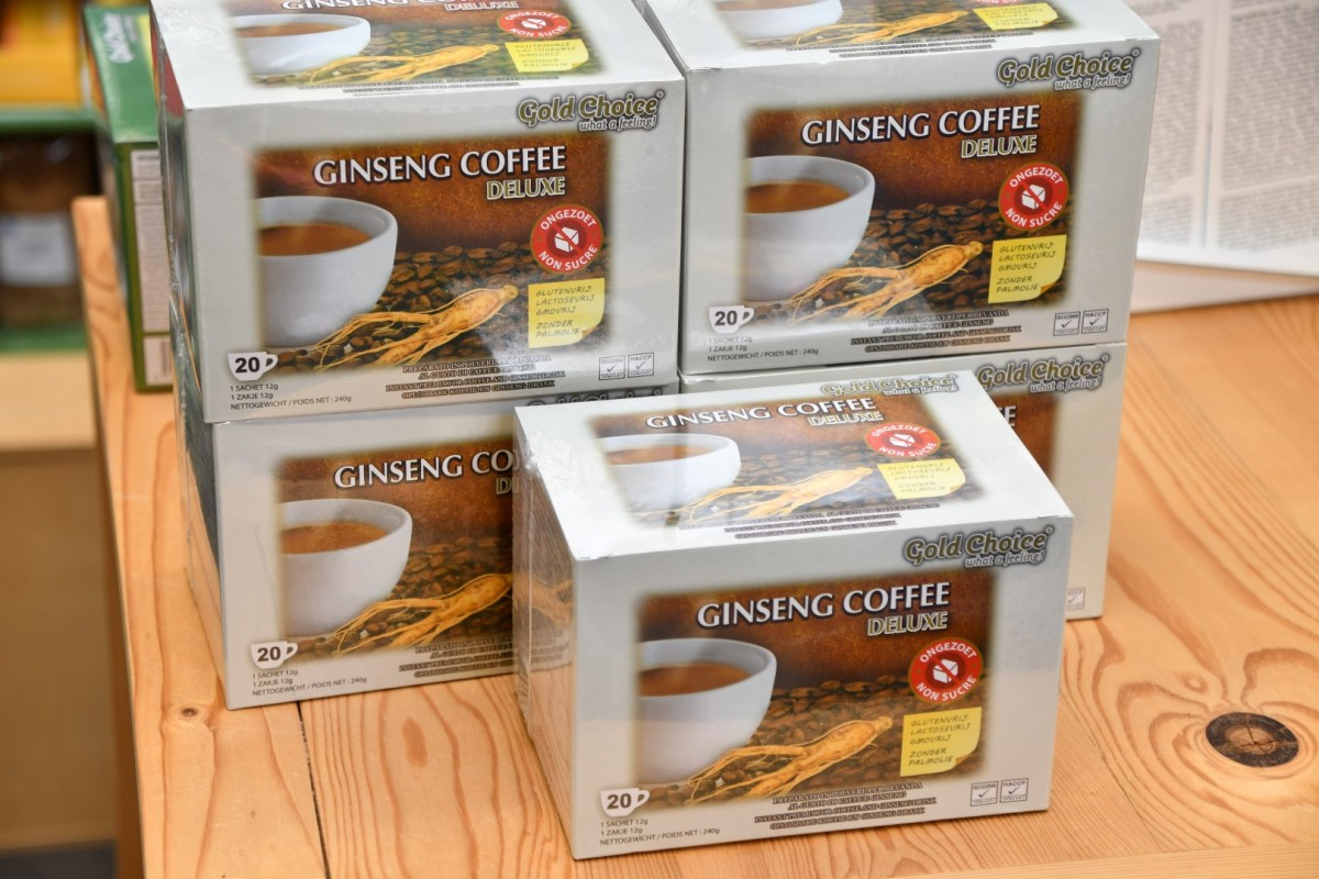 Ginseng coffe deluxe