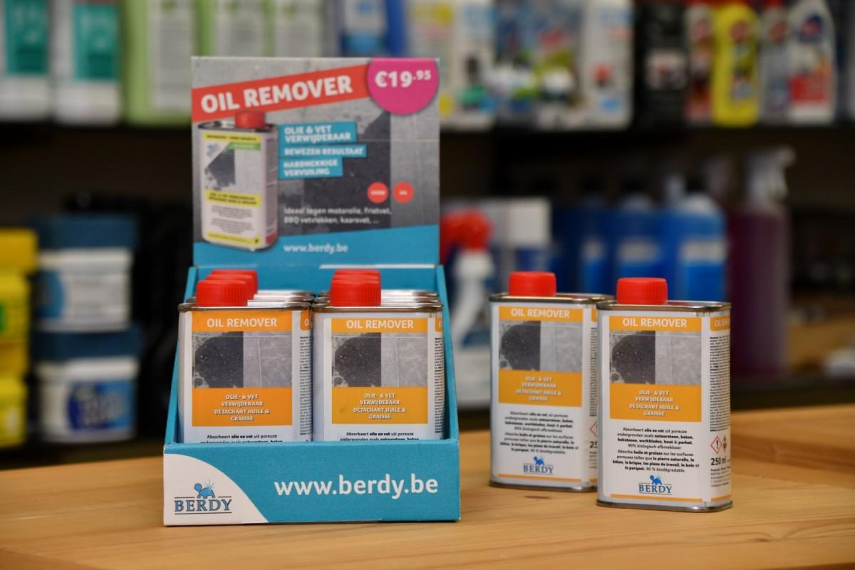 Berdy olie- en vet verwijderaar
