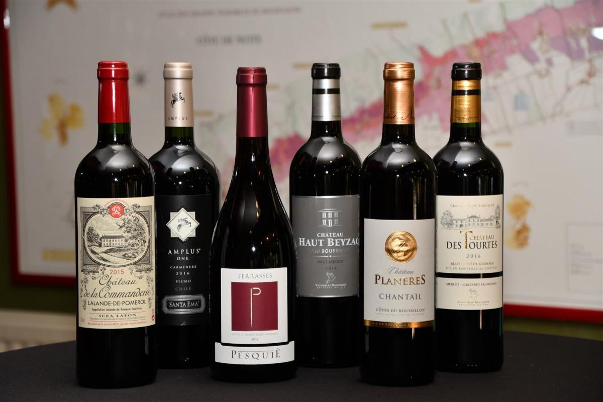 Franse Rode Wijnen