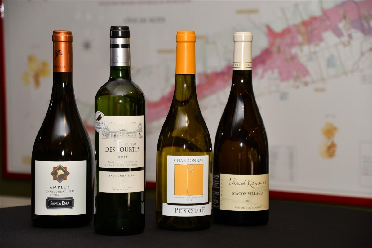 Witte Franse Wijnen