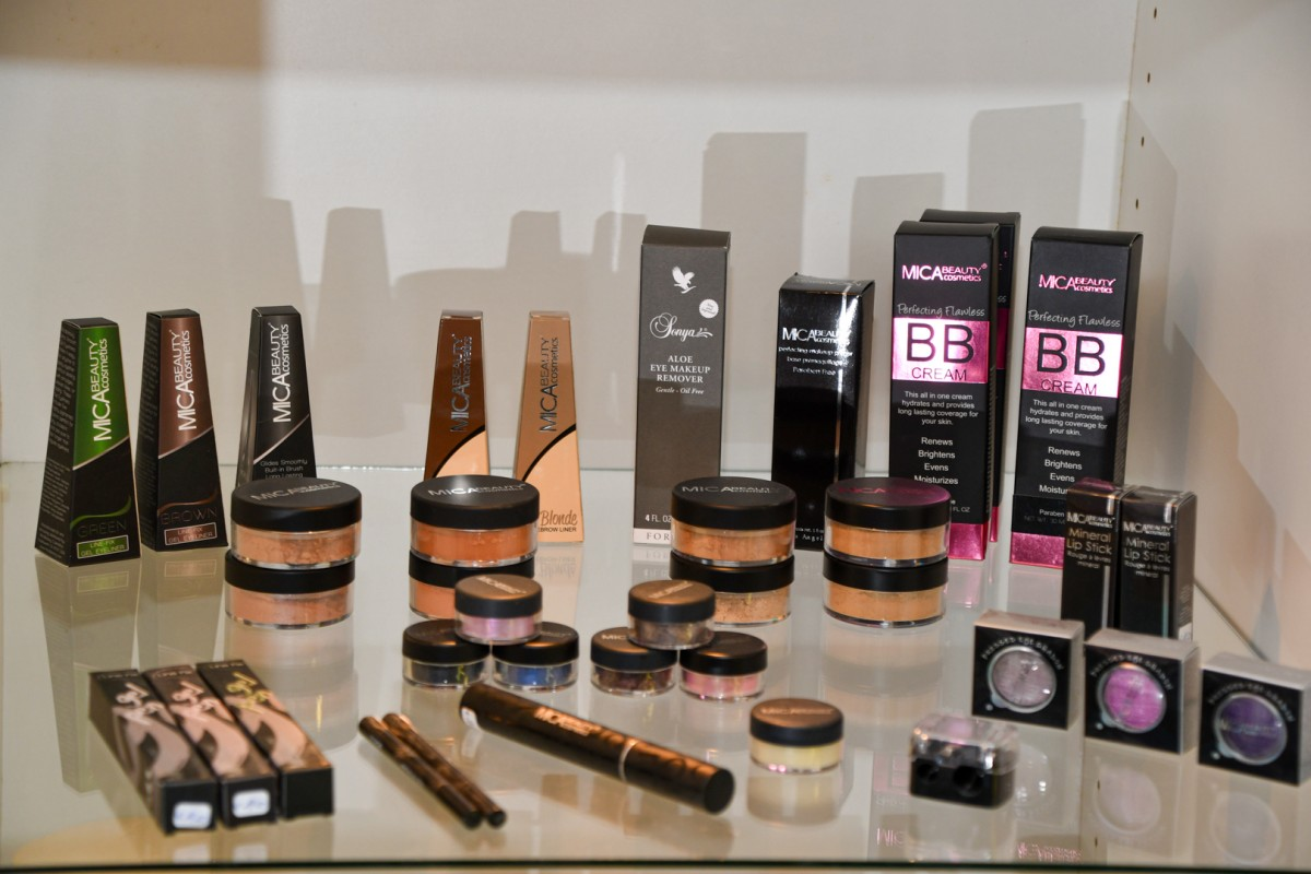 Make-up producten Mica