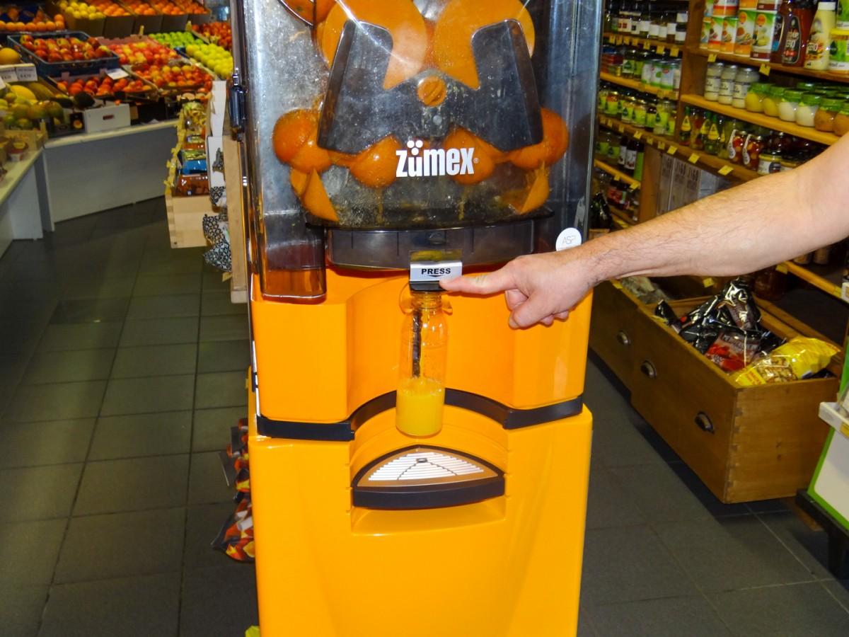 Appelsienpersmachine