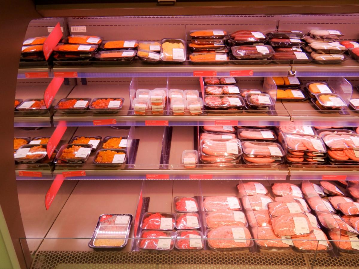 Voorverpakt vlees