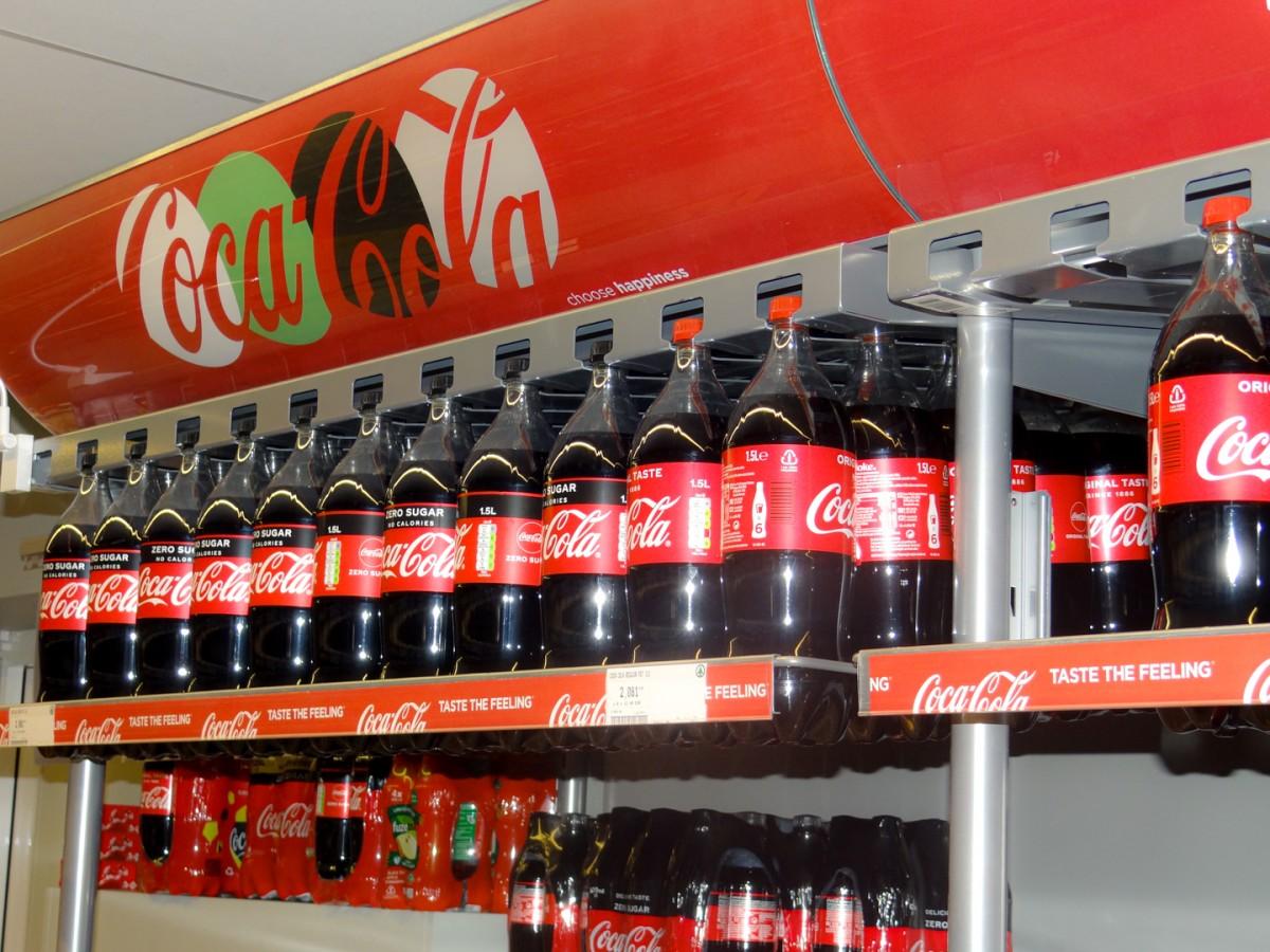 Frisdrank coca-cola