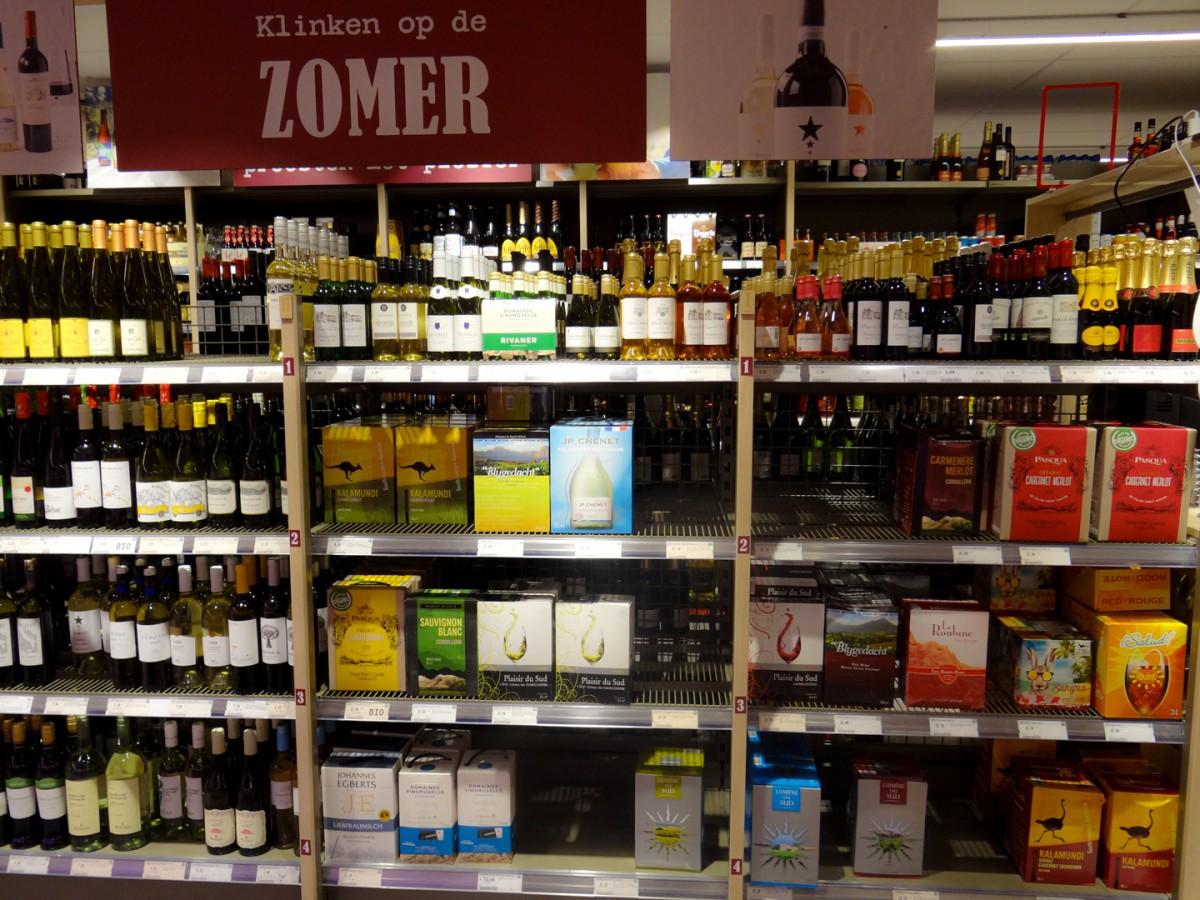 Wijnen en likeuren