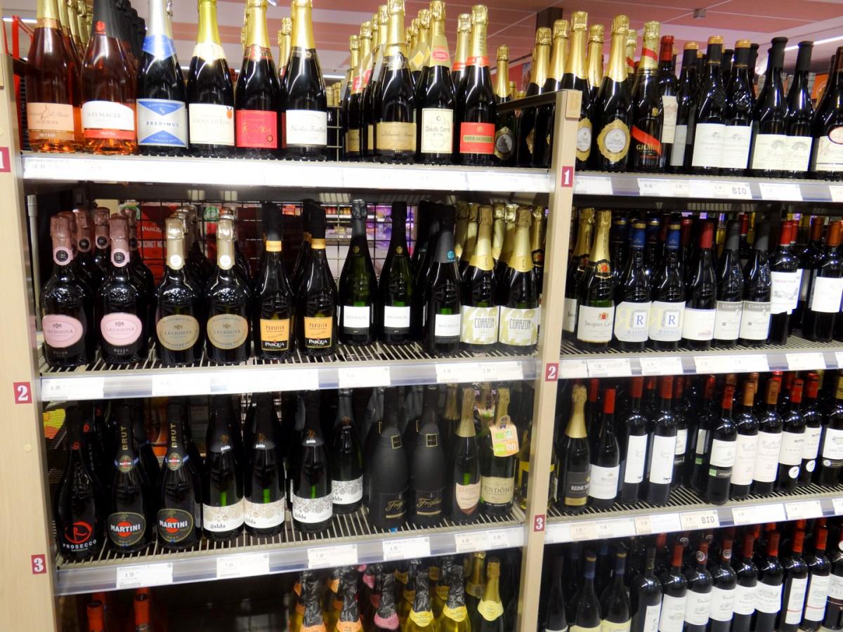 Champagne en Prosseco