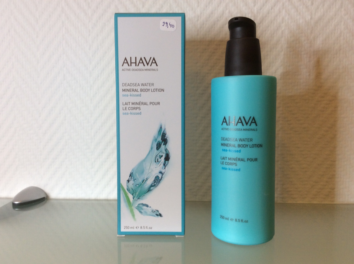 Ahava Body Lotion