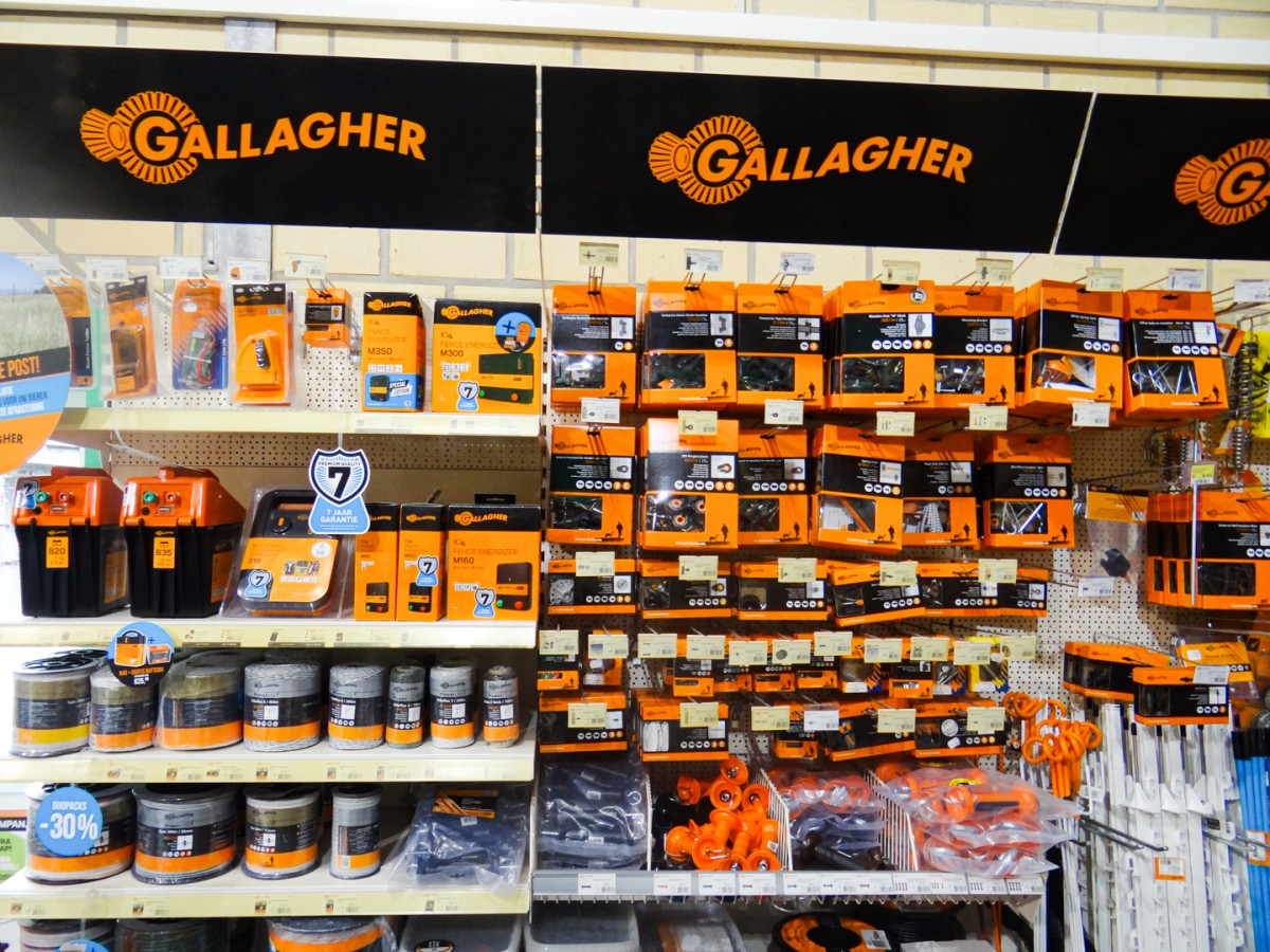 Gallagher weide afrastering