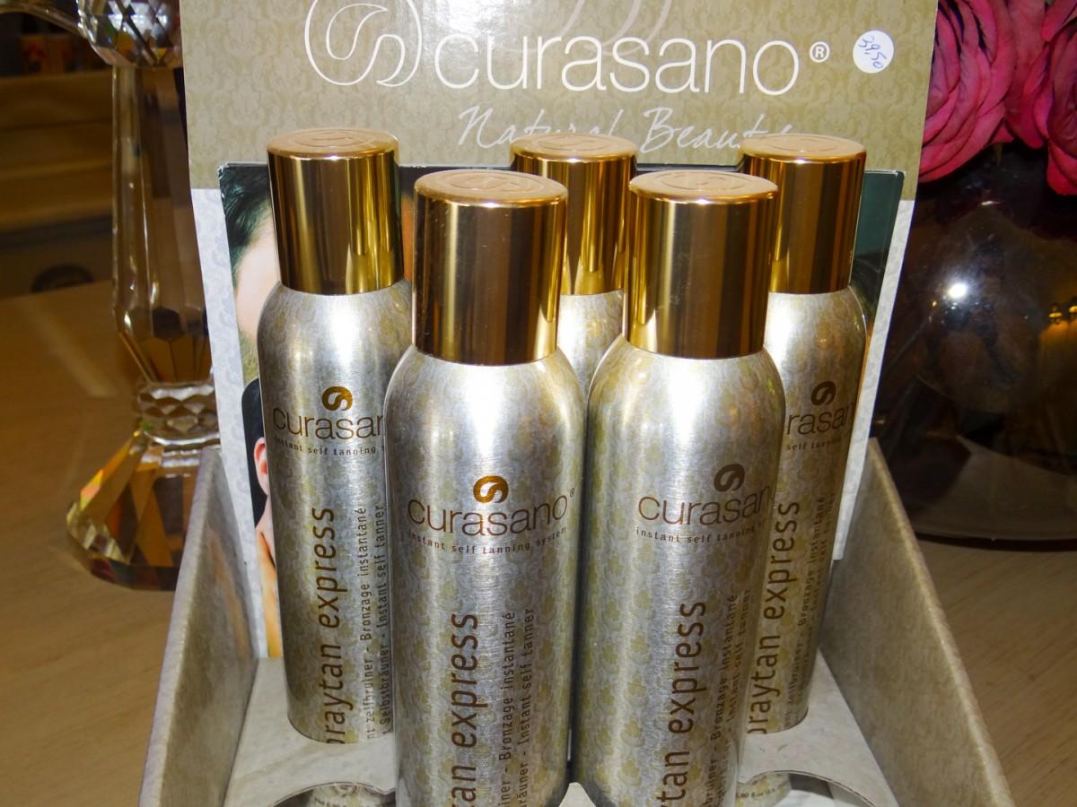 Zelfbruinende spray Curasano