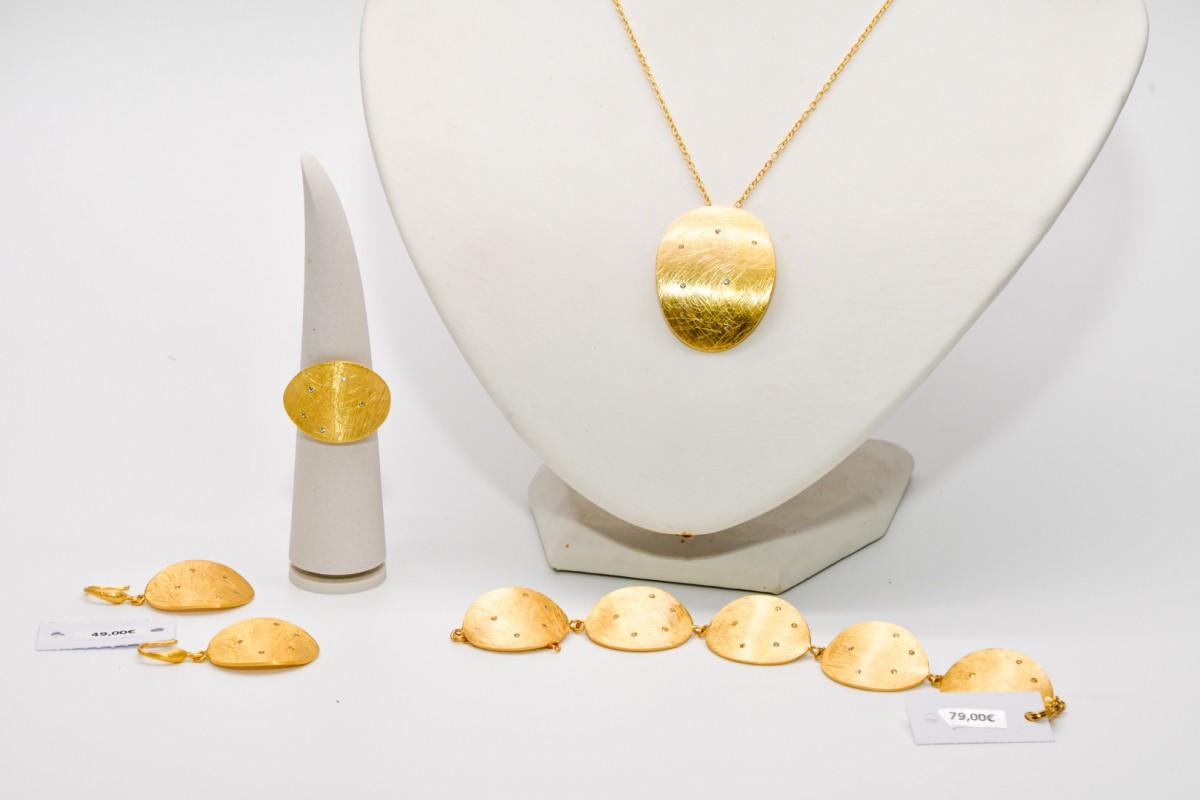 Gouden juwelenset
