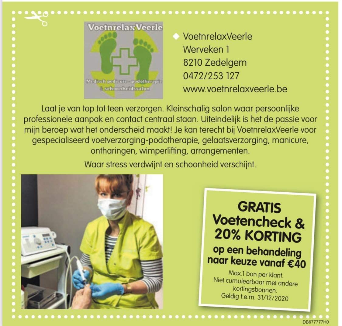 -20% Korting Zedelgem bonnenkrant