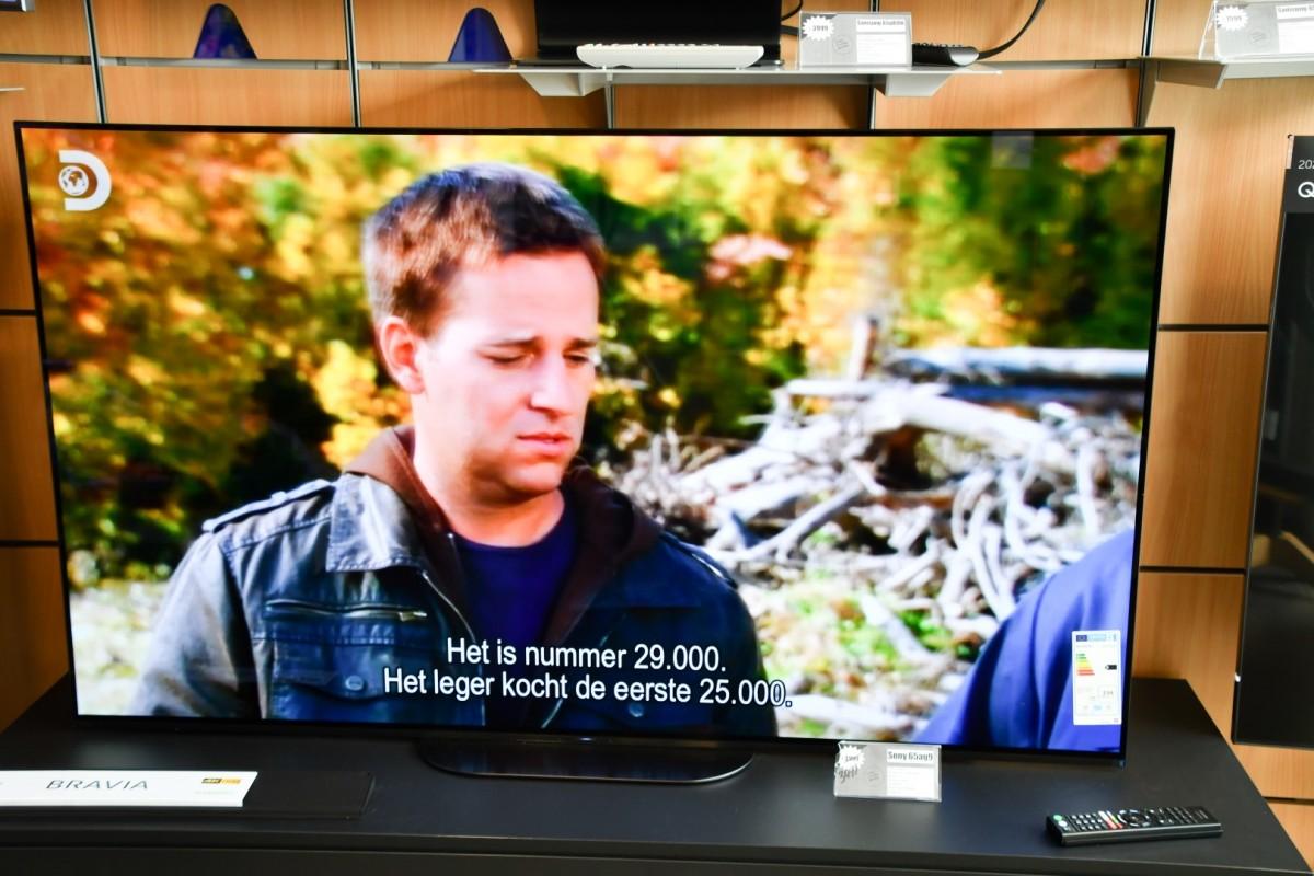 Sony TV 65 ag9