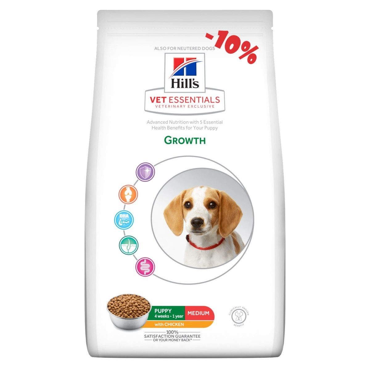 Hills Growth Medium 10 kg (kip)