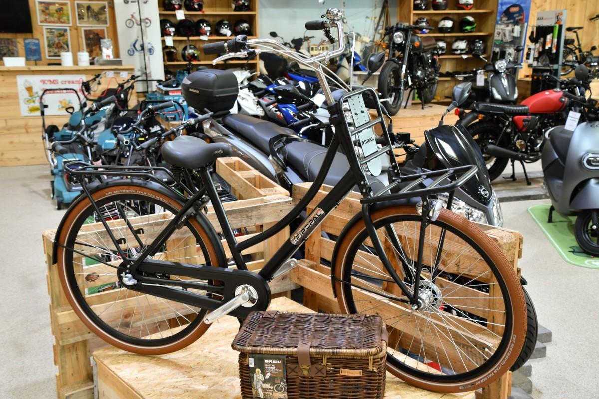 Lifestyl fiets Popal - zwart