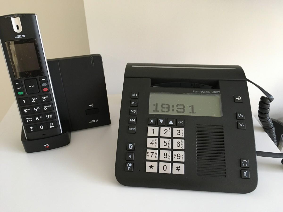 Humantechnik versterkte telefoons