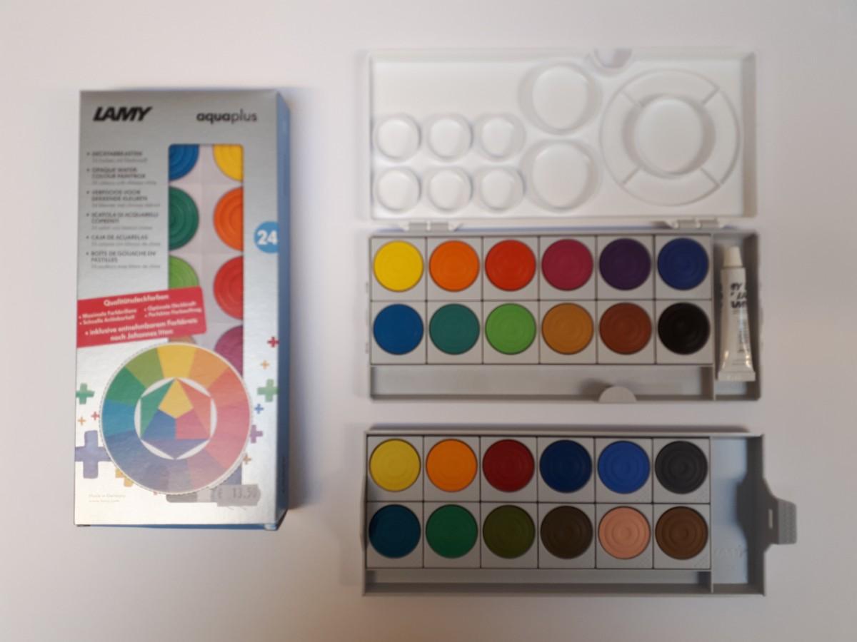 Lamy schildersdoos Aquaplus