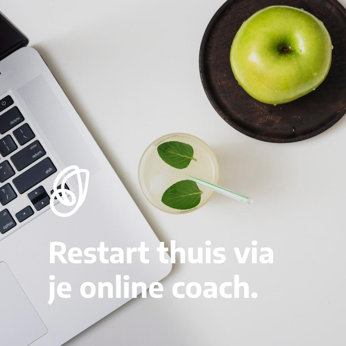 Online afslanken met RESTART