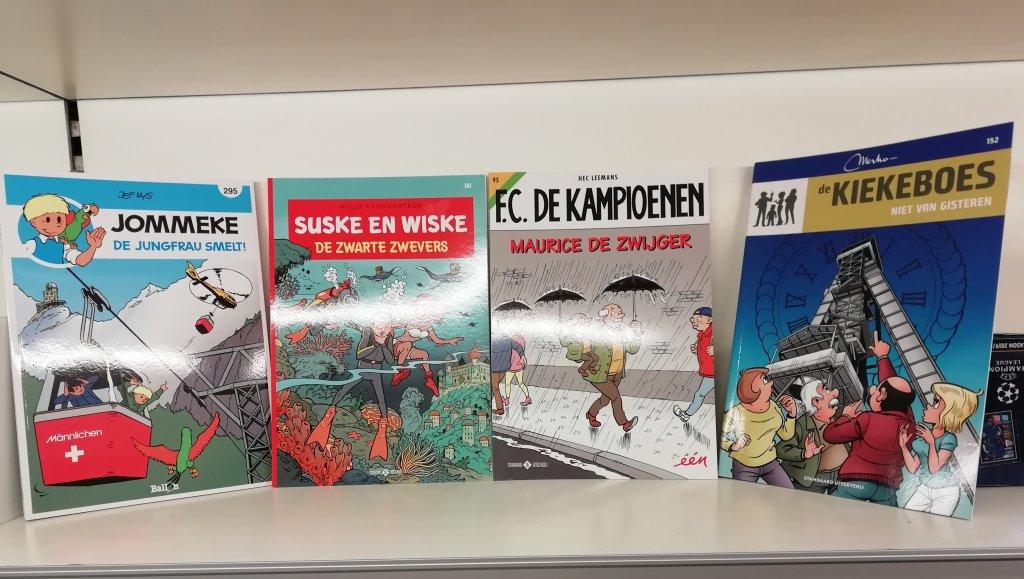 Alle strips aan € 3,00