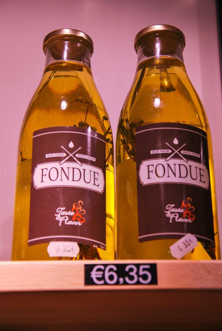 fondue olie