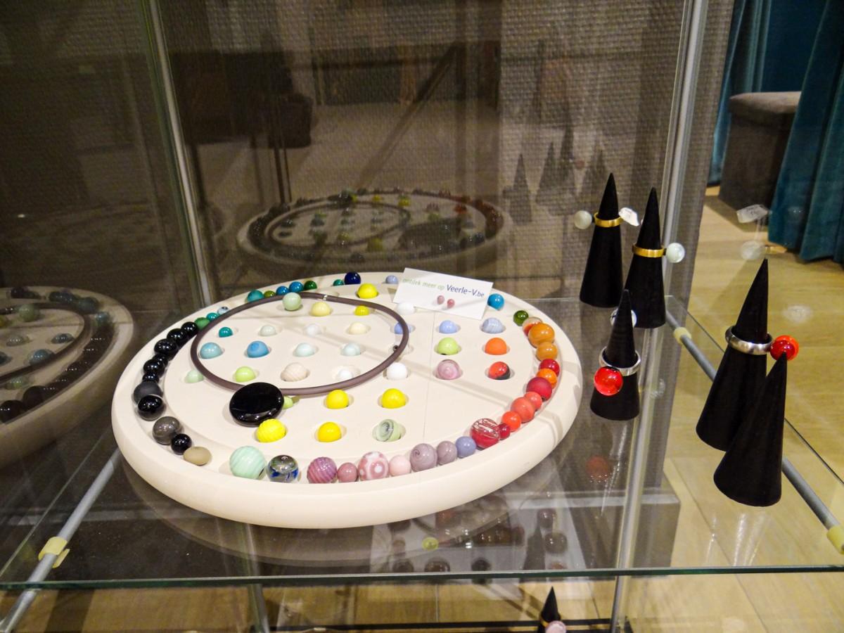 Handgemaakte glasjuwelen