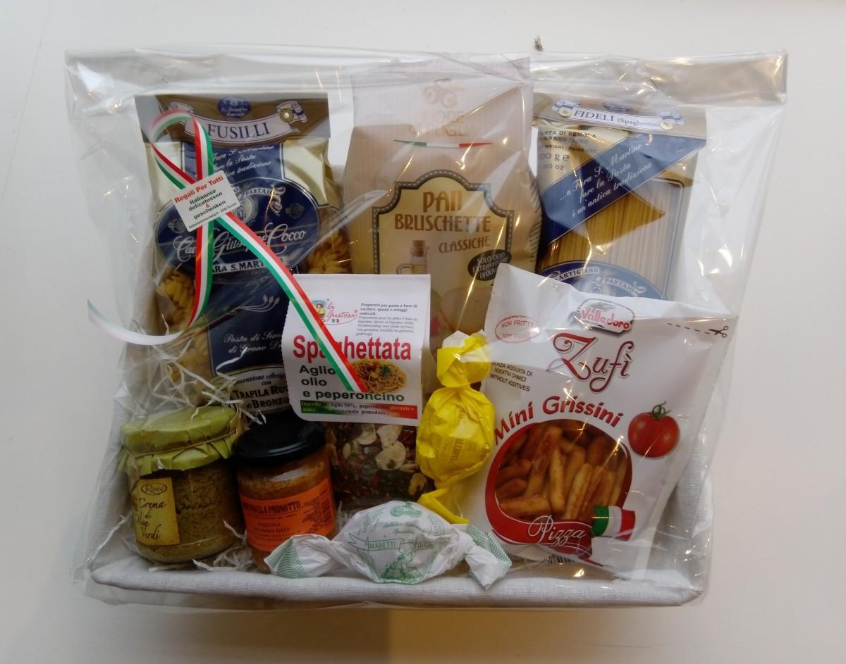 Italiaanse geschenkmand