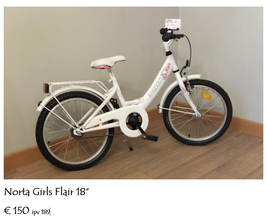 Kinderfiets Norta Girls Flair