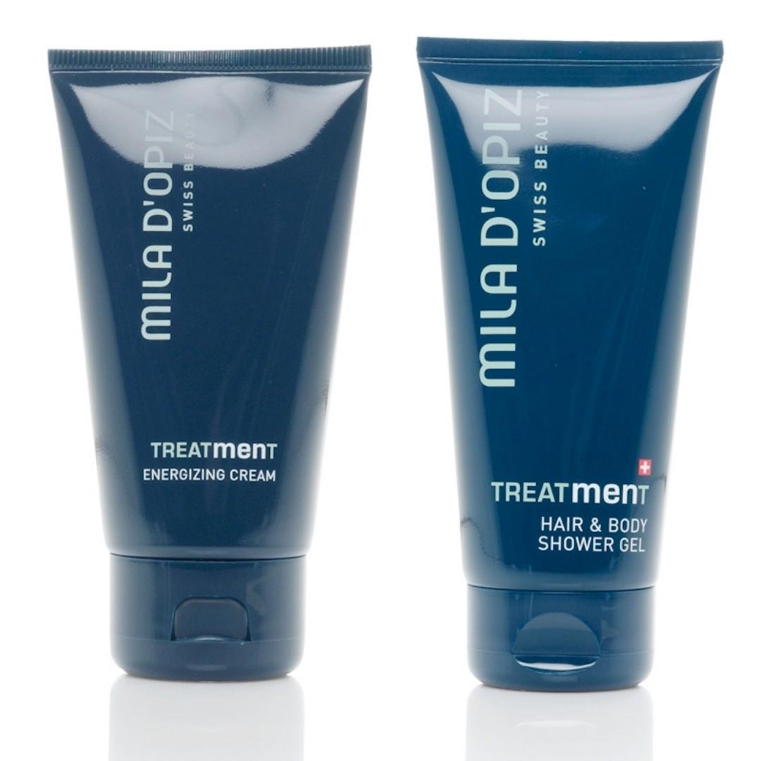 Energizing cream + Shower gel