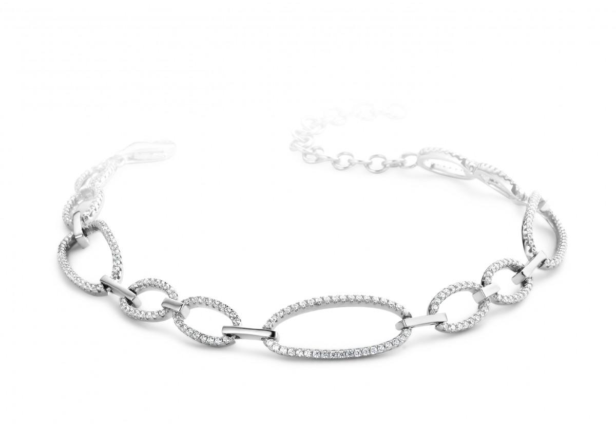 Armband Silver Rose