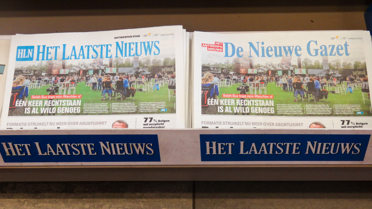 Kranten van over heel het land