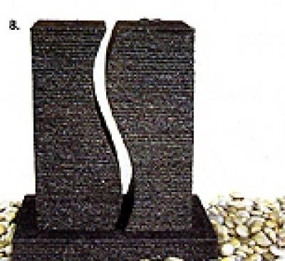 Fontein in graniet