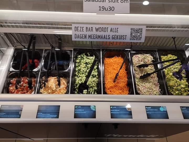 louis delhaize Bertem saladbar