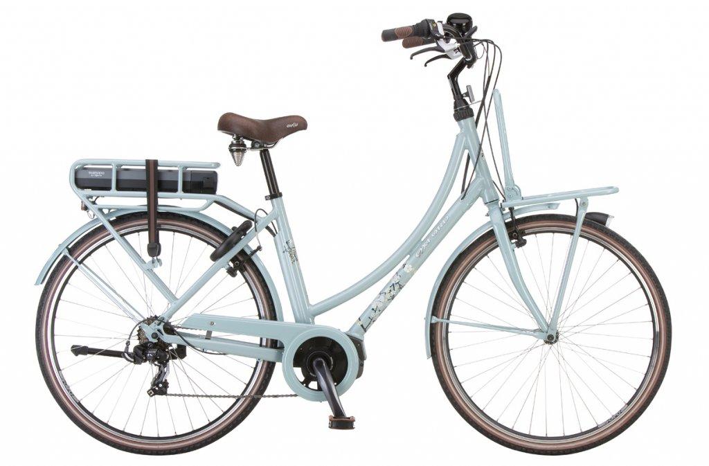 Retro elektrische fiets Oxford