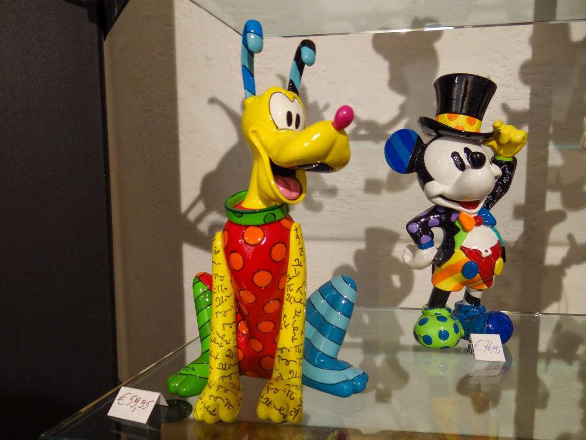 Kleurrijke Disneyfiguren