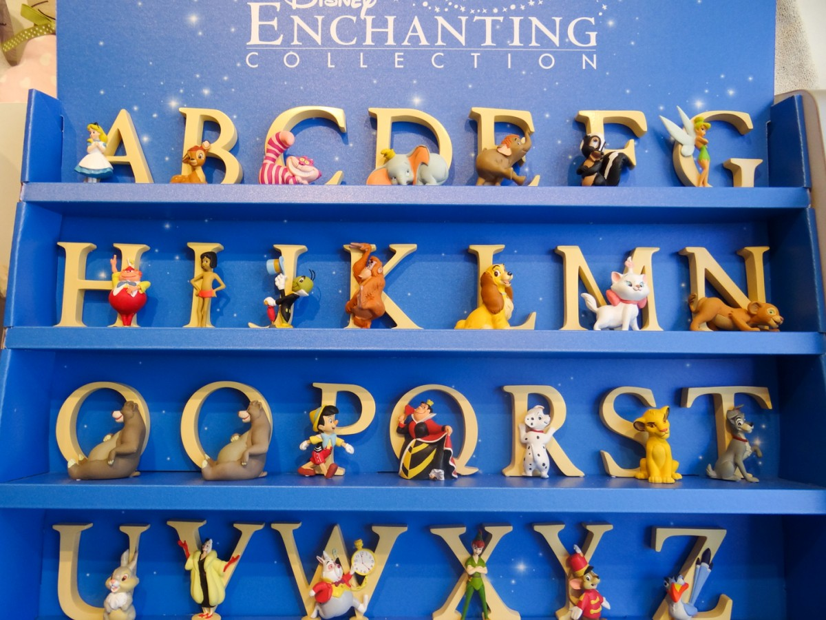 Enchanting collection Letters