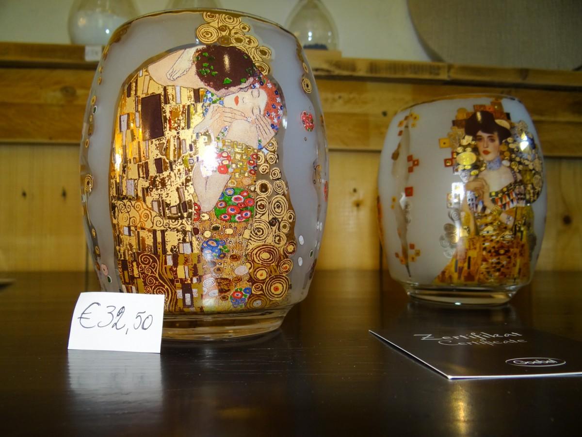 Theelichten v Klimt, Goebel Design