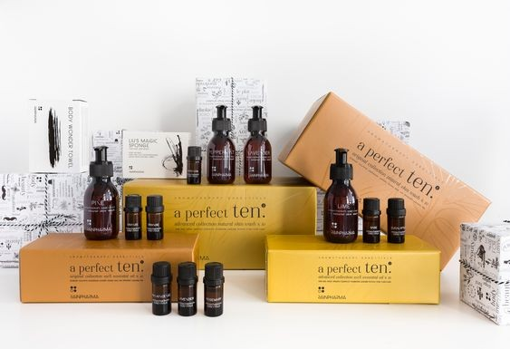A perfect Ten Aromatherapy Essentia
