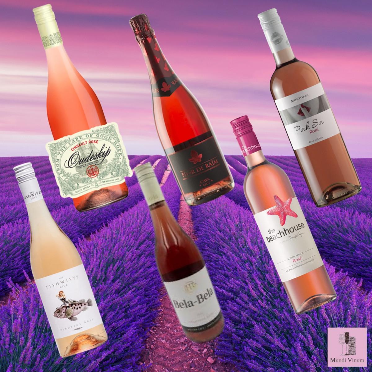 Rosé proefpakketten bij Mundi Vinum